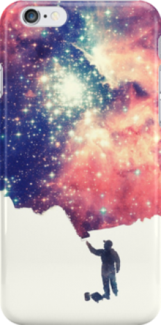 """Painting the universe"" iPhone Cases & Skins by badbugs 