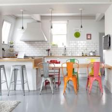 Deco cuisine : mettre de la couleur dans sa cuisine - Côté Maison