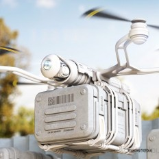 Delivery drones on