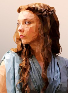 Game of Polygons: Illustrations by Mordi Levi on Inspirationde