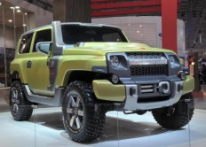 Ford's Jeep Wrangler: The Troller TR-X concept - Images