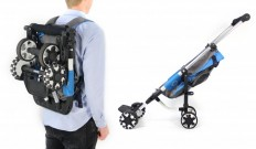 OmniO Rider stroller can be worn like a backpack - Images