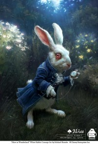 Michael Kutsche - Character Design/ Concept Art/ Illlustration - Alice - white_rabbit_concept_a2_small.jpg
