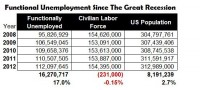 "The ""Functionally"" Unemployed"
