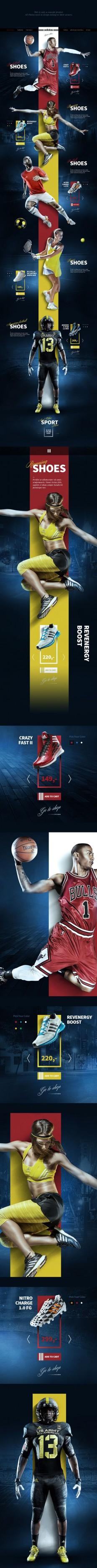 Sport Shoes Concept on Behance| SPORT • AD & DESING | Pinterest