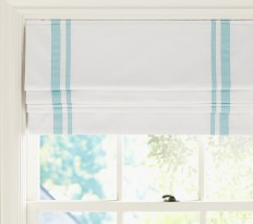 Harper Blackout Cordless Roman Shade | Pottery Barn Kids