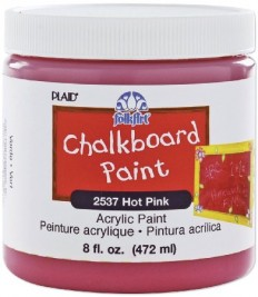 Amazon.com - FolkArt 2537 8-Ounce Chalkboard Paint, Hot Pink - Artists Painting Supplies