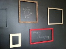 How To Make Your Own Chalkboard Paint In Any Color : Black or Colored Chalkboard Paint Colors Ideas – Inspired Home Designs