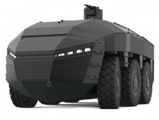 FNSS MILDESIGN 2015 International Land Vehicle Design Competition [The Future of Warfare: http://futuristicnews.com/tag/military/] | Pinterest