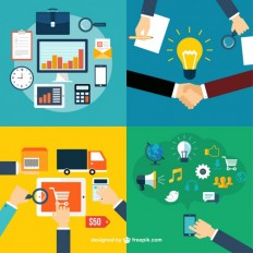 Business roles icons Vector | Free Download