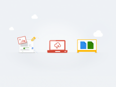 Google Drive illustrations by UENO.
