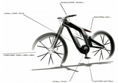 Audi New e-bike Worthersee Concept_4 | Bicycle Sketches ... and bikes | Pinterest