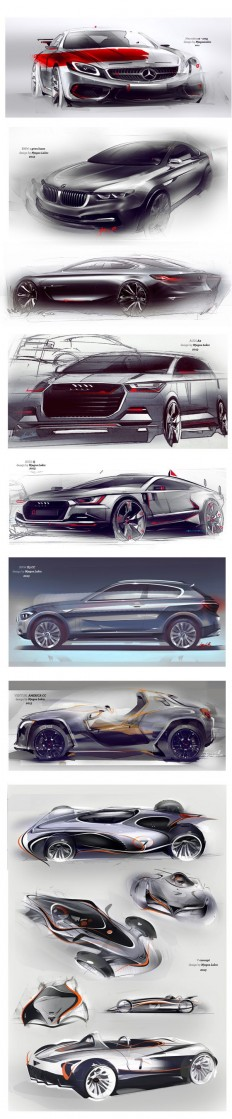 Design concept sketches | industrial design | Pinterest
