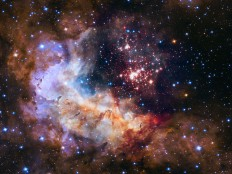 Westerlund 2 — Hubble's 25th anniversary image | ESA/Hubble