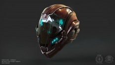 ArtStation - UEE Navy Pilot Helmet Concept, Omar Aweidah