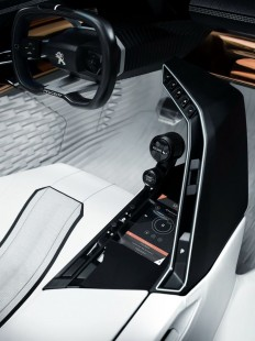 Peugeot's New Fractal Coupe-Hatch-Convertible Concept In All Its Photo Glory | TRANSPORTATION • INTERIOR CONCEPT DESIGN | Pinterest