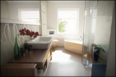 The Tips in Arranging a Small Bathroom Apartment - Bathroom Decorating Ideas