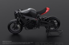 Industrial designer Bill Webb has given his Honda CBR1000rr a makeover. Here's…