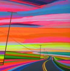 """Sunset"" by Grant Haffner (Acrylics, 2015). - Imgur"