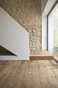 stunning use of materials | finishes | minimalism | neutral space | stone and wood | natural lighting | MINIMAL | Pinterest