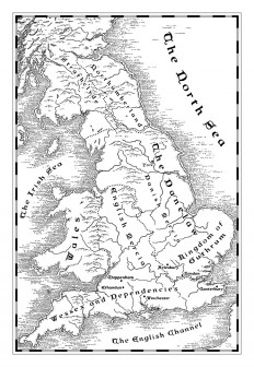 A map of Danelaw Britain - Fantastic Maps