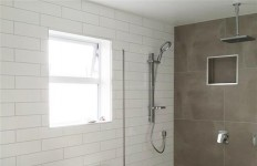 Sandstone Look Bathroom Feature Wall