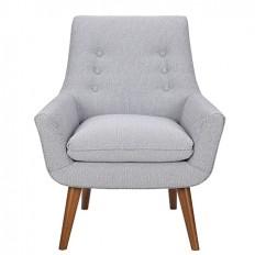 Retro Hazelnut Leg Chair | Freedom Furniture and Homewares