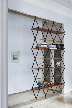 Life on Sundays (kazu721010: Floor-To-Ceiling Shelf & Space Divider...)