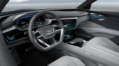 Audi electric SUV concept quick off the mark, over 300 mile range - Images