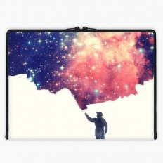 Painting the universe (Awsome Space Art Design) Axis Laptop Sleeve | Snupped