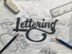 Lettering Sketch on Inspirationde