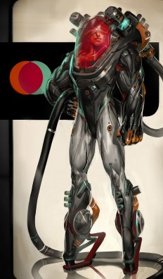ArtStation - Space suit #03, Fred Augis