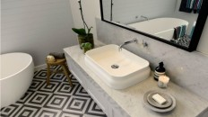 Get the look: The Block Glasshouse main bathroom reveals that wowed the judges - The Interiors Addict