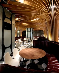 New Trendy Restaurant & Bar by CAA - InteriorZine