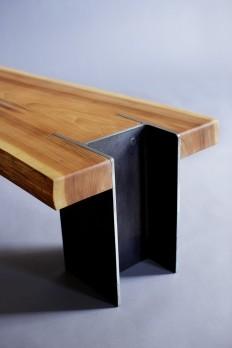 10x42 Bench Live Edge Cedar by Quartertwenty on Etsy