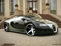 Bugatti Veyron // custom rims on Inspirationde