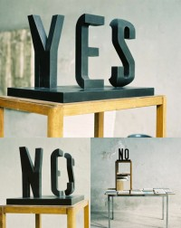 """this isn't happiness™ (""""yes - no"""", Visual Poetry)"""