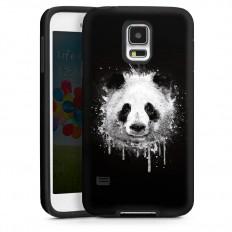 Badbugs Panda für Tough Case (black) für Samsung Galaxy S5 von DeinDesign™