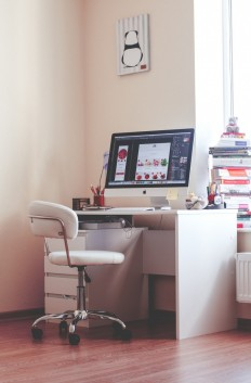 Home workspace by Olia Gozha on Inspirationde