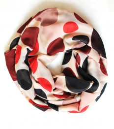 polka scarfinfinity scarf scarf scarves long by lumbaaccessories