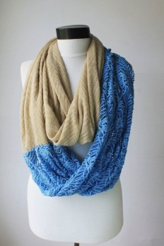 lace blue scarfinfinity scarf scarf scarves by lumbaaccessories