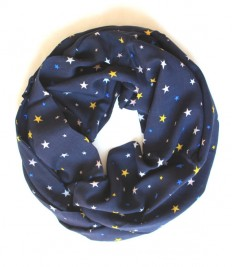 star navy scarfinfinity scarf scarf scarves by lumbaaccessories