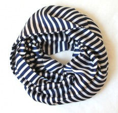 navy striped scarfinfinity scarf scarf scarves by lumbaaccessories