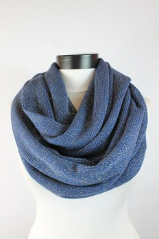 blue mesh scarfinfinity scarf scarf scarves by lumbaaccessories