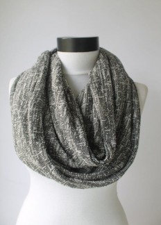 grey scarfinfinity scarf scarf scarves long by lumbaaccessories