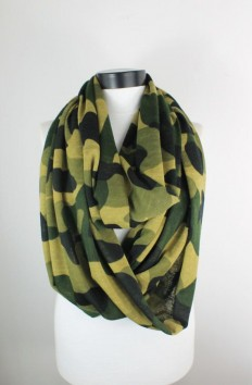 camouflage mesh scarfinfinity scarf scarf by lumbaaccessories