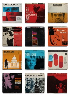 Homeland Vintage Jazz Record Covers - Fonts In Use