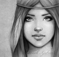Portrait Illustrations by Gabrielle | Cuded