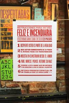 "Toutes les tailles | ""6 pasos para una vida Feliz e Incendiaria."" - Catalogo de Obra Prensa La Libertad. | Flickr: partage de photos!"