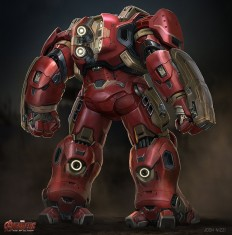 ArtStation - Age of Ultron Hulkbuster, Josh Nizzi